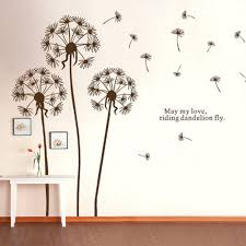 Wall Decor Stickers Walmart Canada by Wall Gold Star Wall Decals Dandelion Wall Decal Peel And