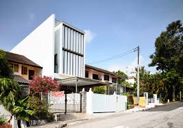 100 Terrace House In Singapore Replaces Entire Front Wall WithBoomerangs