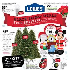 Ge Pre Lit Christmas Trees 9ft by Lowe U0027s Black Friday 2017 Ads Deals And Sales