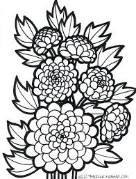 Flower Coloring Page Wonderful Craft Accompany Book Who Made You Children Realistic Flowers Pages Print Free