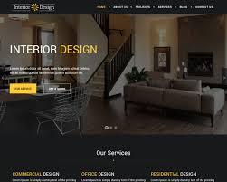 100 Home Interior Website 20 Eye Catching Design Templates 2019