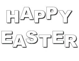 Happy Easter Coloring Pages To Print Point Detail