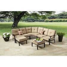 better homes and gardens carter hills 7 piece outdoor sectional