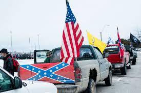 School Shut After Confederate Flag-bearing Truck Gatherings | Fox News Michigan School Says Trucks With Confederate Flags Were Potentially Flag Group Charged With Terroristic Threats Nbc News Shut After Flagbearing Truck Gatherings Fox Photos Clay High Schooler Told To Take Down From A Guy His And The West Salem Students Force Frdomofspeech Shdown Display Of Flags Fly At Hurricane High Education Some Americans Still Despite Discnuation The Rebel Flag Isnt About Its Identity Peach Pundit Raw Video Rally Birthday Partygoers Clashing 100 Blankets Given By Gunfire Heard Near Proconfederate In Ocala Wftv