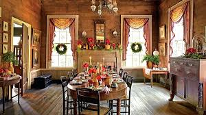 Christmas Dining Room Table Holiday Centerpieces
