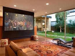 Install Projector Mount Drop Ceiling by Learn How To Install A Media Room Projector Screen How Tos Diy