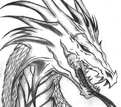 Coloring Pages Of Dragons Free Printable Dragon For Kids Drawing