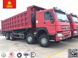 China HOWO Brand New 8X4 Dump Truck With Hardox Steel Body - China ...