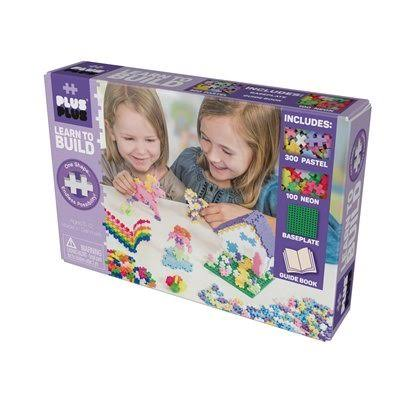 PlusPlus Adult Learn to Build Pastel 400 Pcs Toys