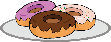 Cute Donut Cliparts 2814420 License Personal Use
