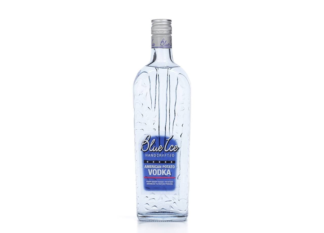 Blue Ice Vodka - 750ml
