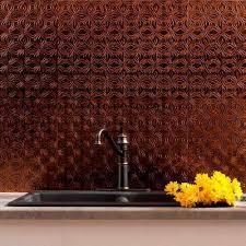 rubbed bronze tile backsplashes tile the home depot