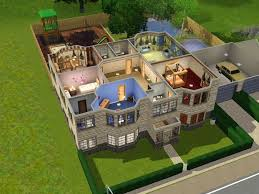 Sims 3 Legacy House Floor Plan by Dramaqueen000 U0027s The Mini Mansion A 7 Bedroom 6 Bathroom House