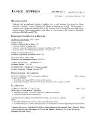 Objective For Resume High School Student Samples Graduates College