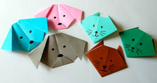 Origami Cat And Dog Group