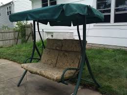 Patio Swings With Canopy by Walmart 2 Seater Rus4860 Replacement Swing Canopy Garden Winds