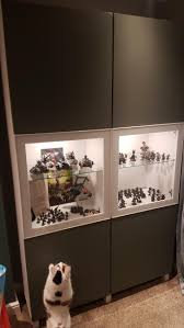 ikea besta miniature display cabinet album on imgur