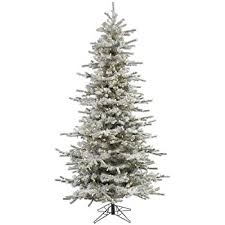 Vickerman A862086LED Unlit Flocked Red Pencil Fir Artificial Christmas Tree