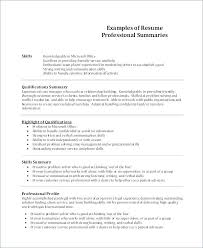 Entry Level Customer Service Resume No Experience Profile Example