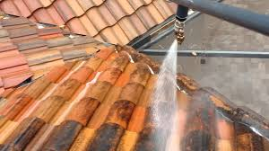 barrel tile roof cleaning