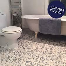 antique vintage blue floor tiles harran tiles 450x450x9 5mm tiles