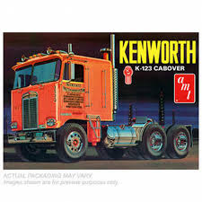 AMT 687 1:25 Kenworth K123 Cabover Plastic Model Truck Kit | Shop ...