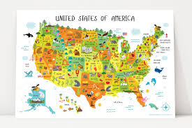 Map Usa For