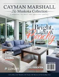 100 Muskoka Architects The Cayman Marshall Collection SpringSummer 2018 By The