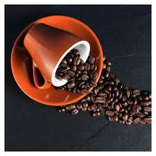 levandeo glasbild 3er set je 30x30cm wandbild glas kaffee