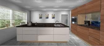 planungshilfe geschlossene küche ohne hängeschränke mit