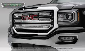 GMC Sierra 1500 Upper Class Main Grille - 2 PC Overlay - Polished ...