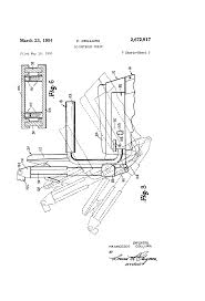 Adec Dental Chair Weight Limit by Patent Us2672917 Adjustable Chair Google Patents