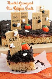 Rice Krispie Treats Halloween Theme by Haunted Graveyard Rice Krispies Treats Rice Krispies Treats