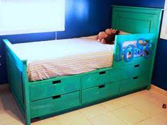 diy twin bed with storage interesting idea to make shelves or