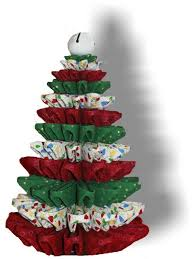 Folded Fabric Tree Tutorial