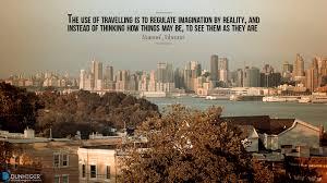 Dunheger Travel Quotes Samuel Johnson