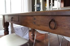 Pottery Barn Corner Desk Craigslist by Craigslist Dining Table U2026before U0026 After