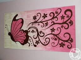 Easy Patterns To Paint Cool Wall Designs Excellent But Simple Acrylic Painting Ideas For