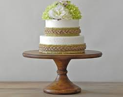 12 Wedding Cake Stand Rustic Pedestal Grooms Topper E