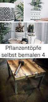 pflanzentöpfe selbst bemalen 4 coffee table decor home decor