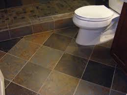 Bathroom Tile Installation Black Ceramic Retile Fall Door Decor Sink Within Floors
