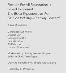 100 Armada House Liberty Fashion For All Foundation HOUSE OF ARMADA