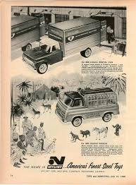 100 Cheap One Way Truck Rentals 1966 ADVERT Nylint U Haul Jungle Wagon Steel Toy S