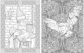 the harry potter colouring book