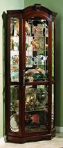 Bobs Furniture China Cabinet by Brown Corner Curio Cabinet Muebles De Madera Pinterest