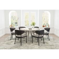 Set Of 2 Gray Dining Room Chairs