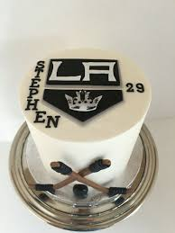 Kings Hockey Cake La