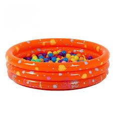 piscine a balle gonflable piscine à balles gonflable orange avec océan pour bébé enfant