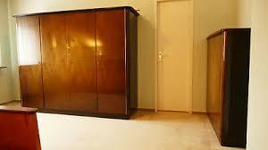 schlafzimmer komplett musterring späte 50er massiv mit mahagonifurnier beleg ebay
