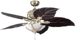 Tommy Bahama Ceiling Fan Light Kits by Kendal Lighting Ac11152l Hb Wn Copacabana 52 Inch Ceiling Fan